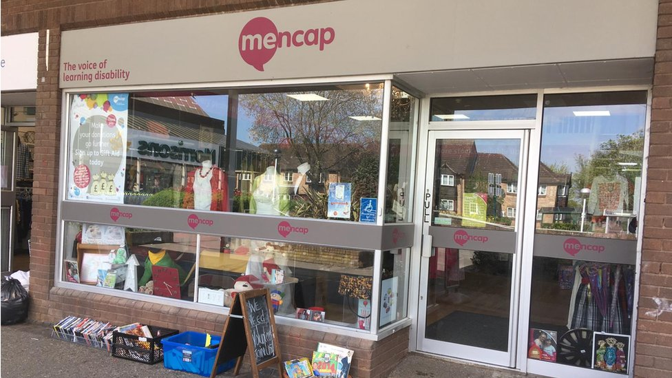 Mencap charity staff find 'grenade' among donations
