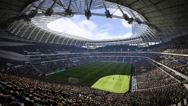 Tottenham fans to see inside new stadium in video game