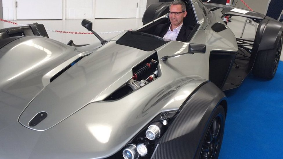<![CDATA[The world's first graphene car is unveiled in Manchester]]>