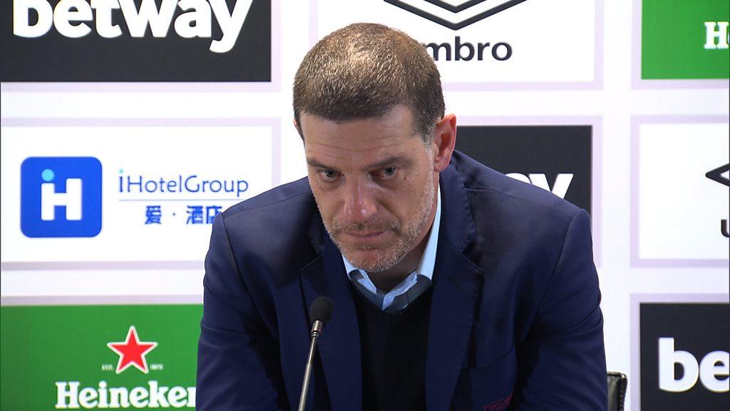 West Ham v Chelsea: Slaven Bilic condemns fan violence