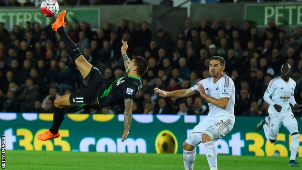 Video: Swansea City vs Stoke City