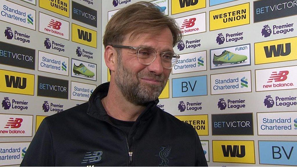Liverpool 4-1 West Ham: Jurgen Klopp hails 'unbelievably important' win