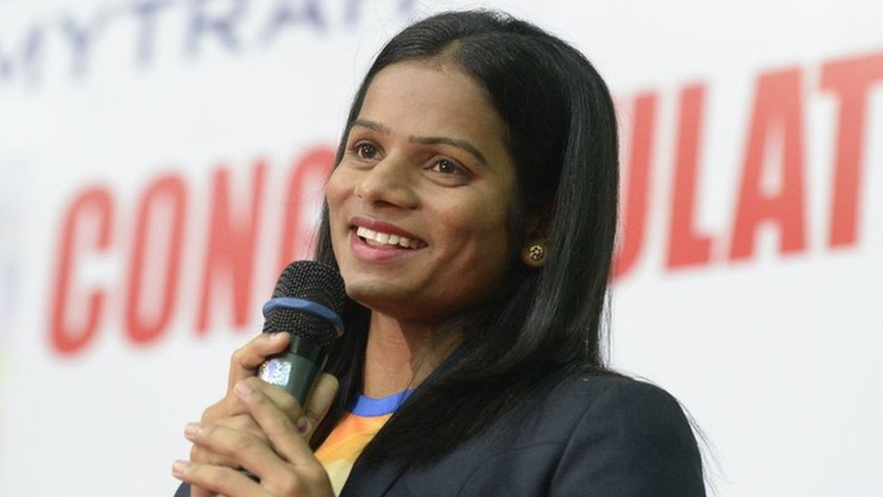 Sprinter Chand is first openly gay Indian athlete