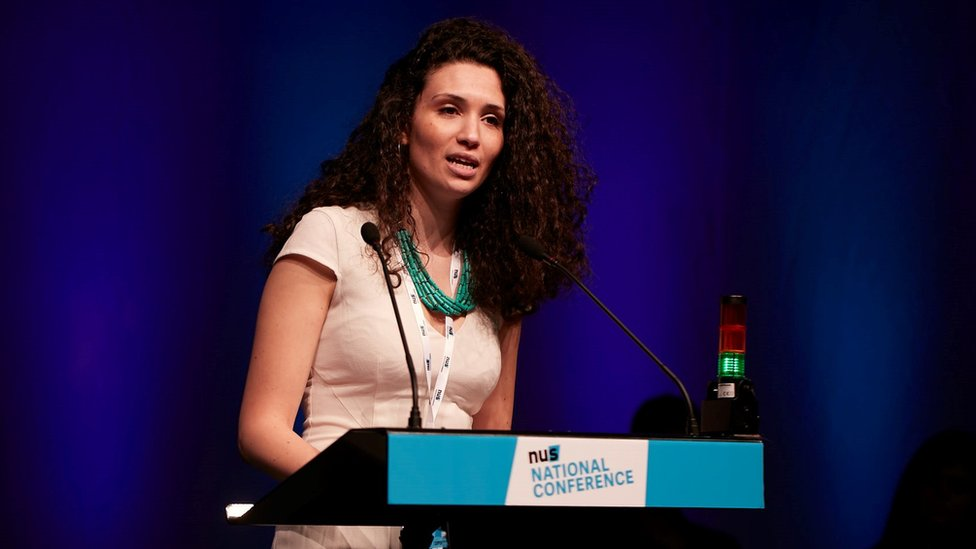 NUS president accused of 'anti-Semitic rhetoric'