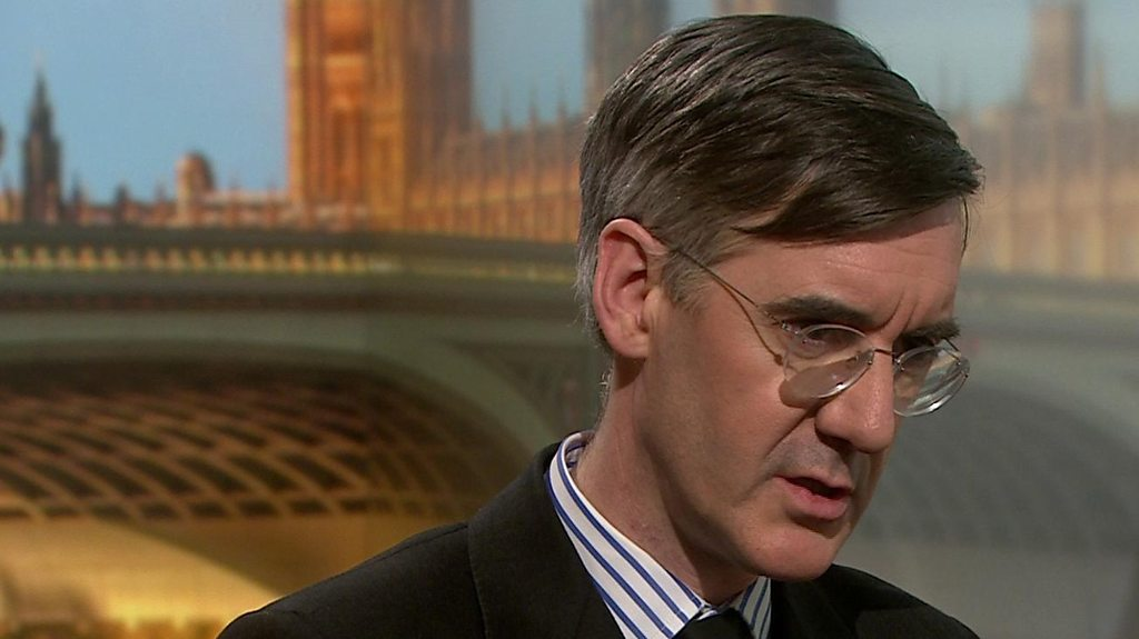 Rees-Mogg will 'not put Marxist in Downing St'