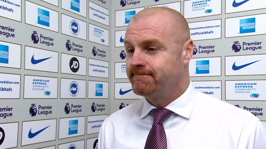Brighton 0-0 Burnley: Sean Dyche applauds a 'mammoth effort' from Clarets
