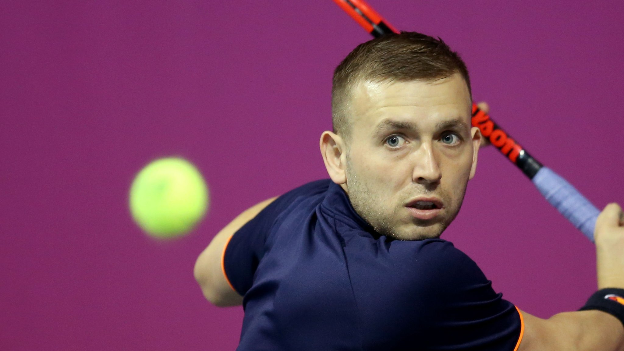 Dan Evans wins in first round of Loughborough ATP Challenger