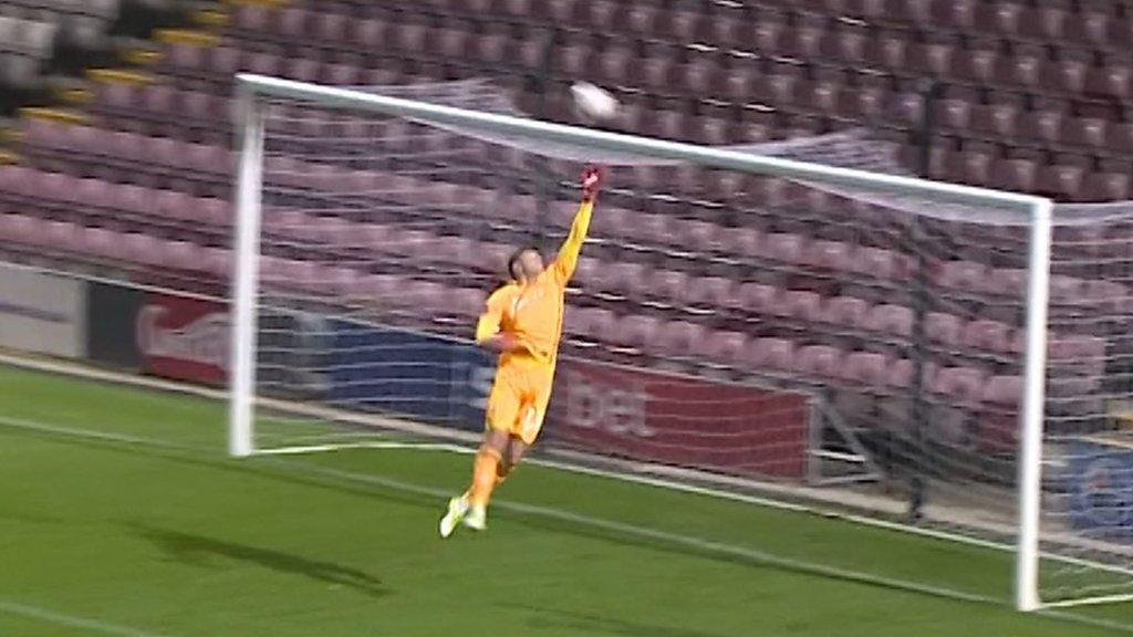 Bradford City 4-4 Peterborough: Toney's brilliant half-way line goal in FA Cup replay