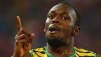 Cherish the supreme showman Bolt