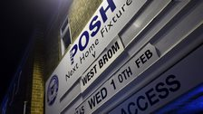 Peterborough's fixture board