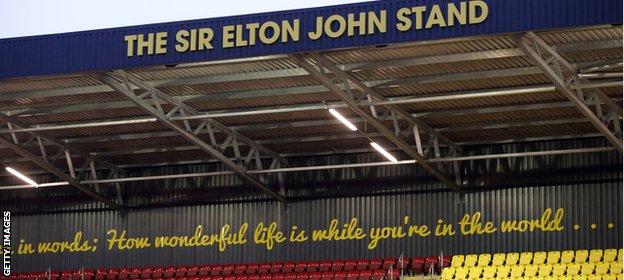 The Sir Elton John Stand