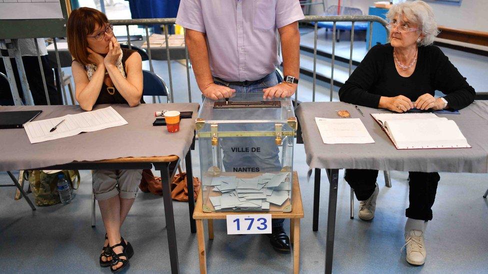 Elecciones legislativas en Francia