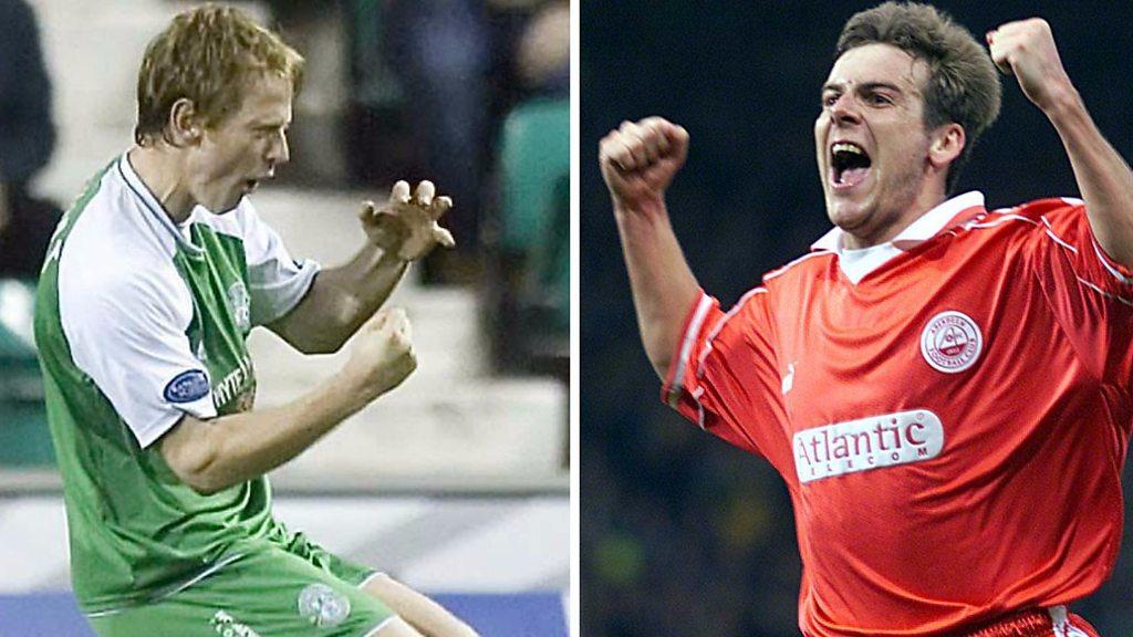 Hibernian v Aberdeen: Five classic Scottish Cup goals