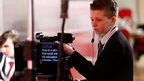 School Reporter filming in Derry TV Special