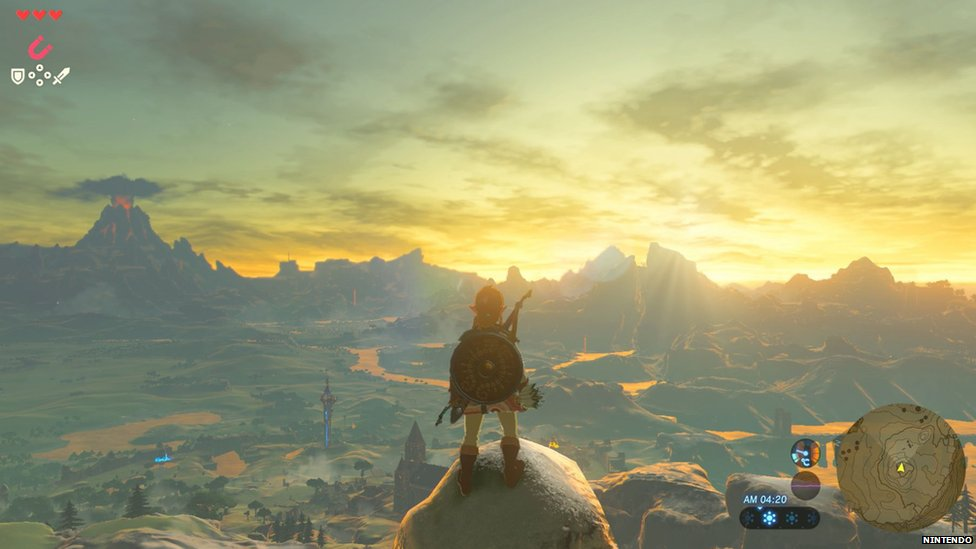 Legend of Zelda: wins big at the Game Awards