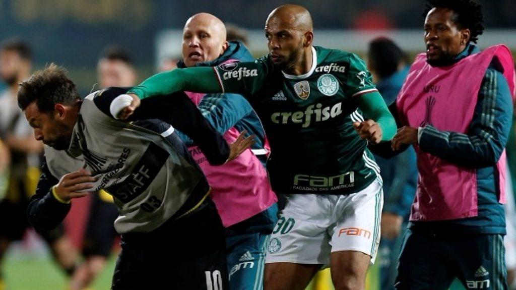 Brawl mars Palmeiras Copa Libertadores win over Penarol