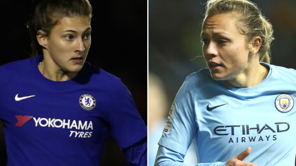 Chelsea & Man City resume Women's Champions League bids