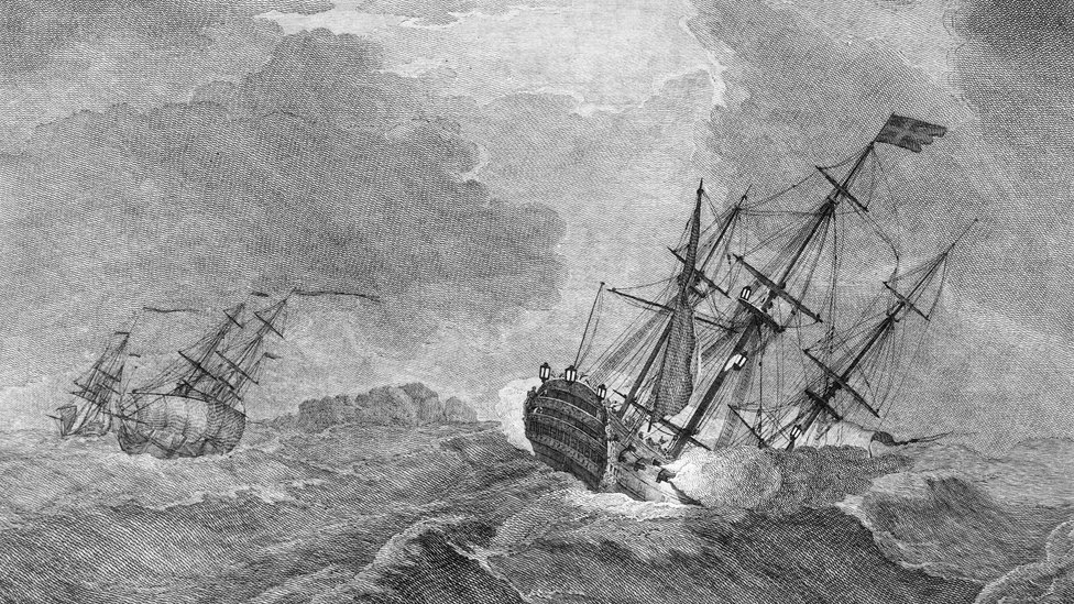 What do drones and GPS owe to a 1744 shipwreck?