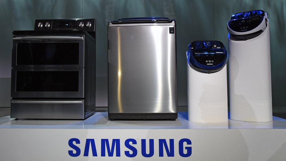 Samsung in 'exploding washing machines' probe