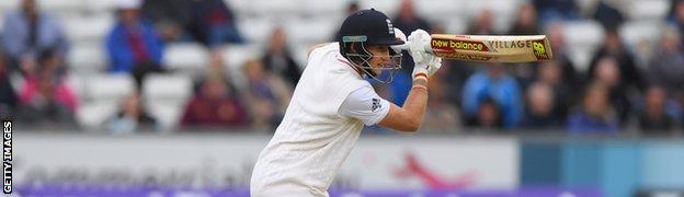 England cricketer Joe Root