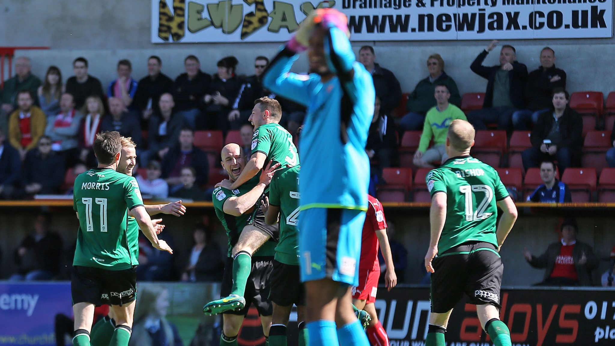 Burying bad news? Swindon avoid mentioning they are relegated