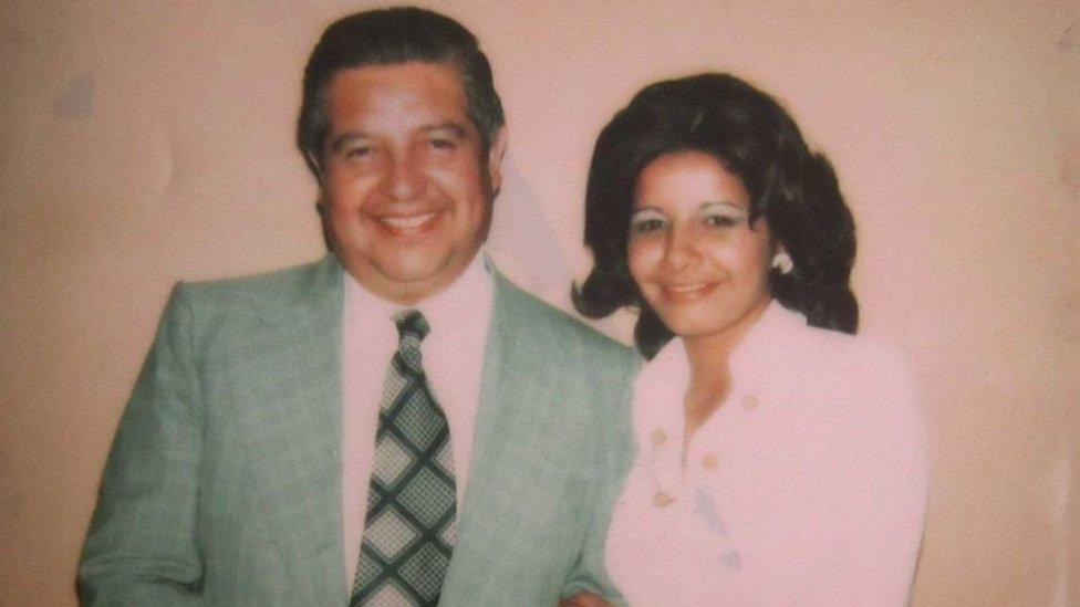 Manuel Contreras y Adriana Rivas