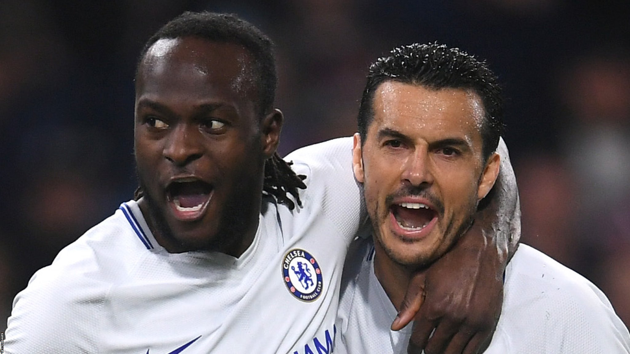 Moses strikes as Chelsea win at Burnley
