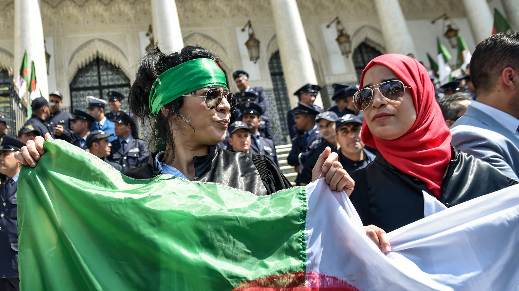 Algeria protests: Youth lead the movement for change