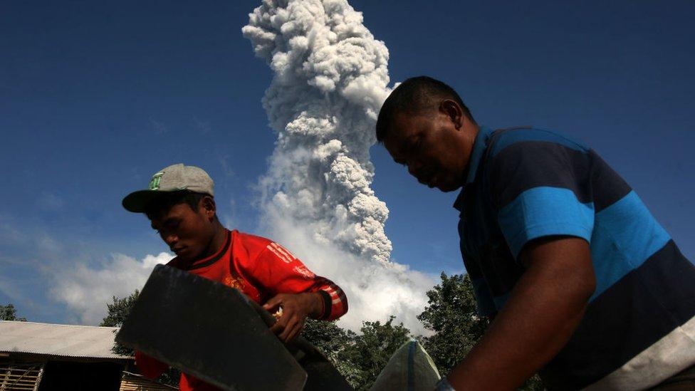 Monte Sinabung
