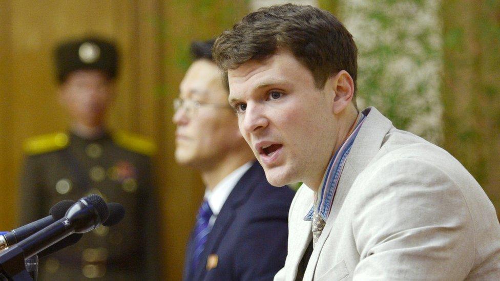 КНДР заперечує тортури американського студента