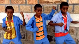 Dave Grohl's birthday song from Ethiopia
