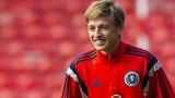 Scotland Under-21 midfielder Ryan Gauld