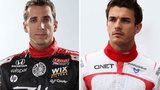 Justin Wilson and Jules Bianchi