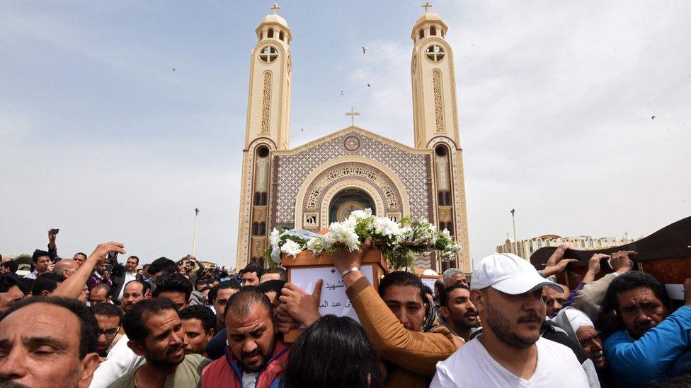 جنازات ضحايا الأسكندرية