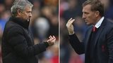 Jose Mourinho and Bendan Rodgers
