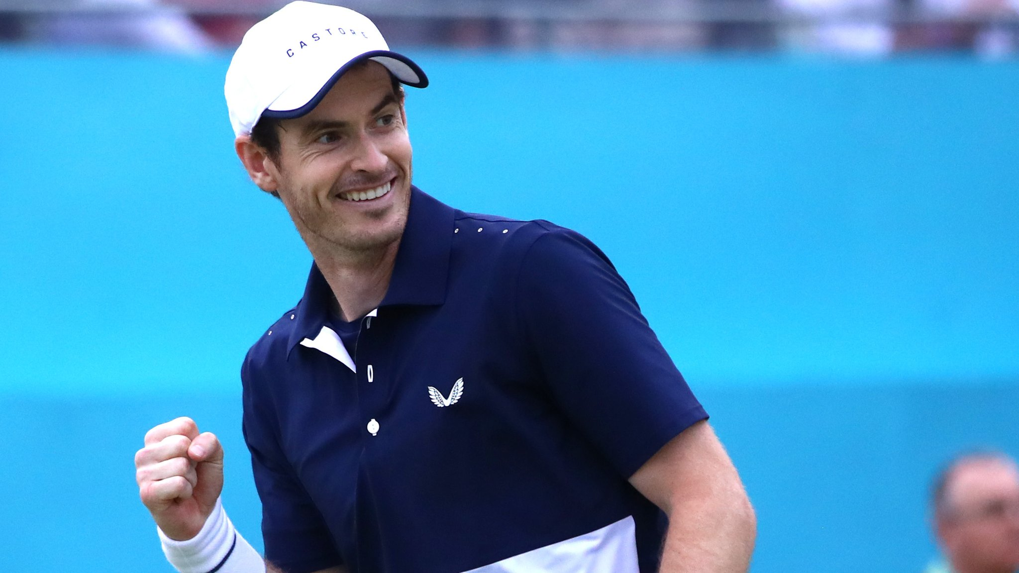 'I've won with a metal hip - it's special' - Murray on Queen's win