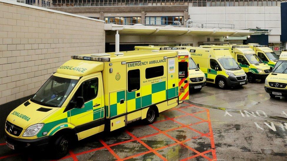 North West Ambulance Service paramedics strike in pay row