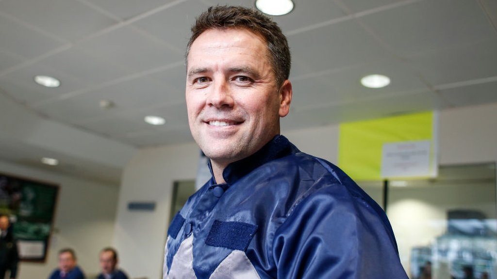 Michael Owen finishes second on jockey debut at Ascot