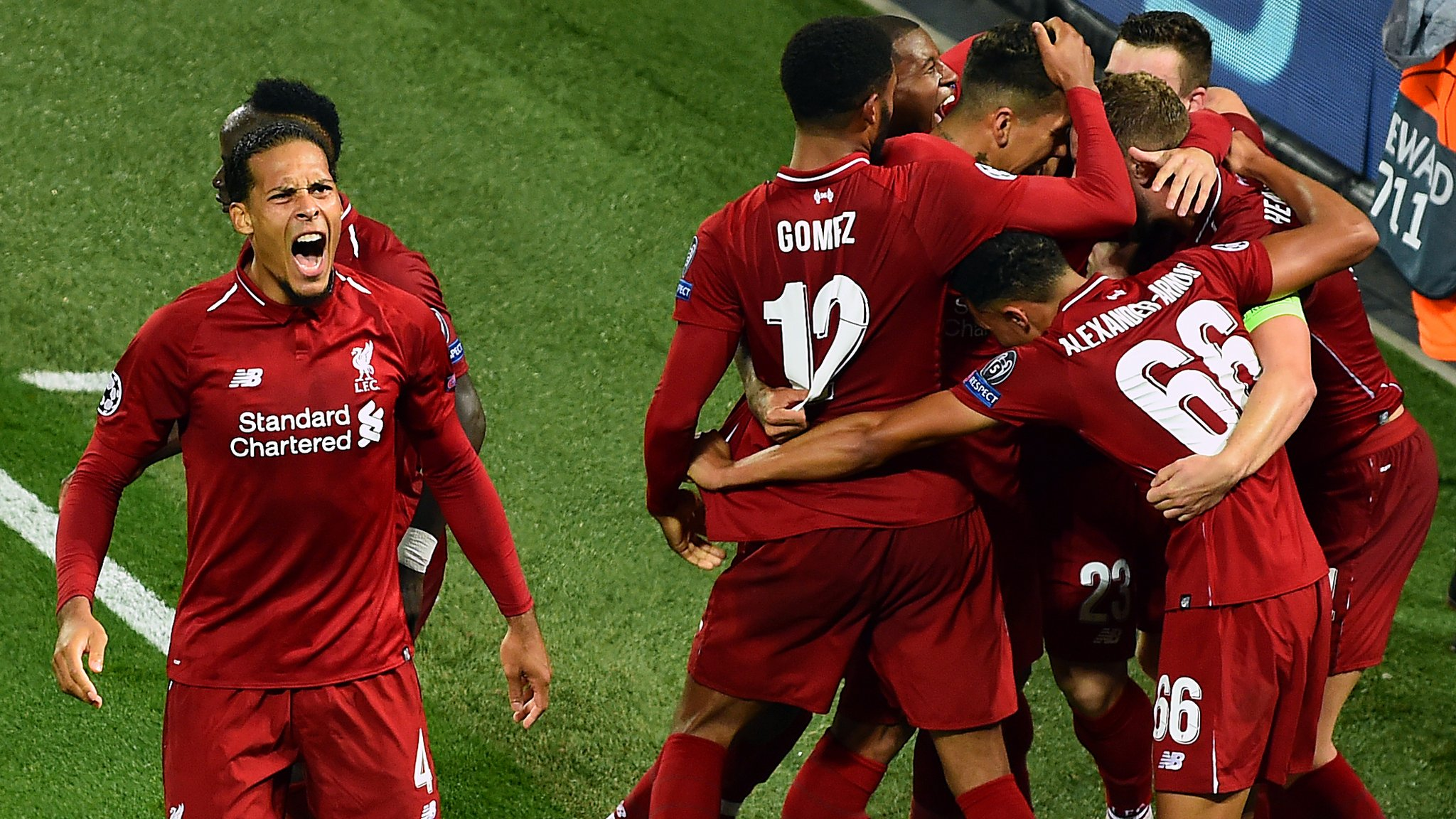 Liverpool 3-2 Paris St-Germain