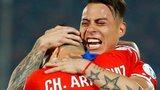 Chile goal