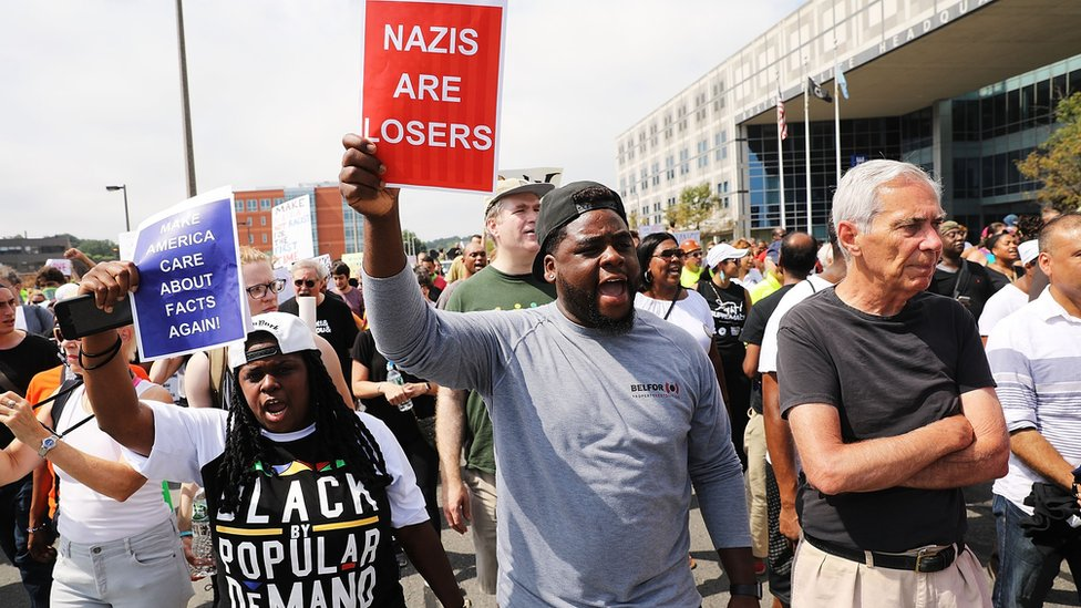 Boston march against right-wing rally draws thousands
