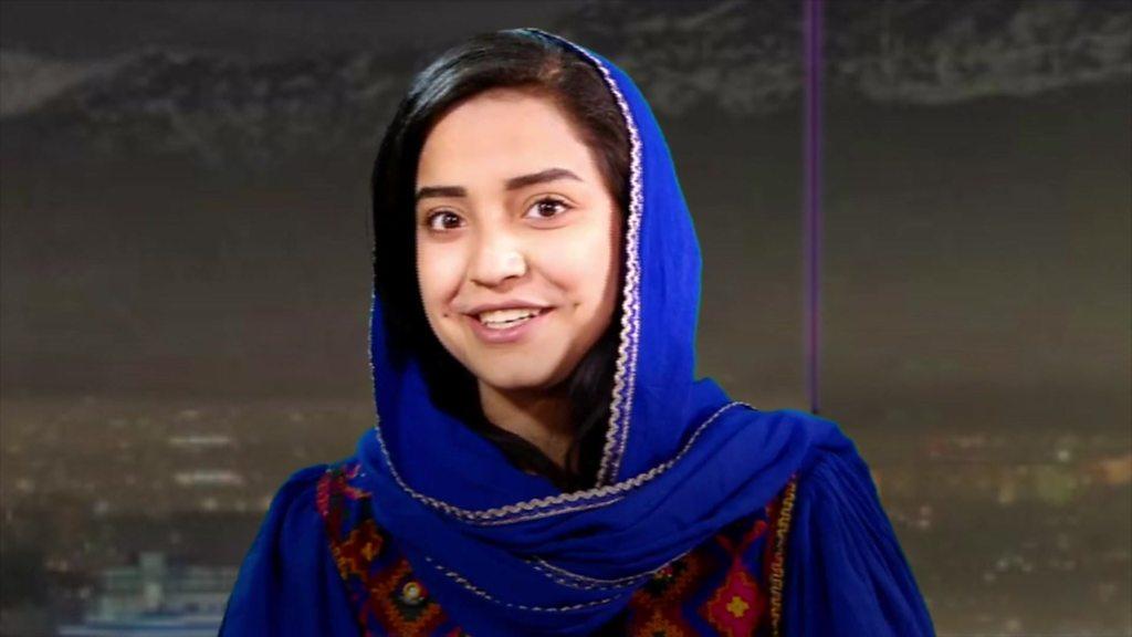 Inside Afghanistan's TV station for women