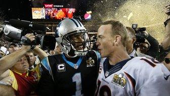 Cam Newton and Payton Manning