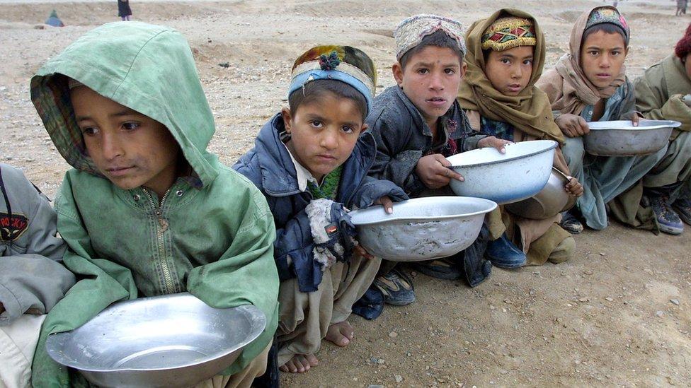 یونیسف: وچکالي او خوارځواکي افغان ماشومان ګواښي
