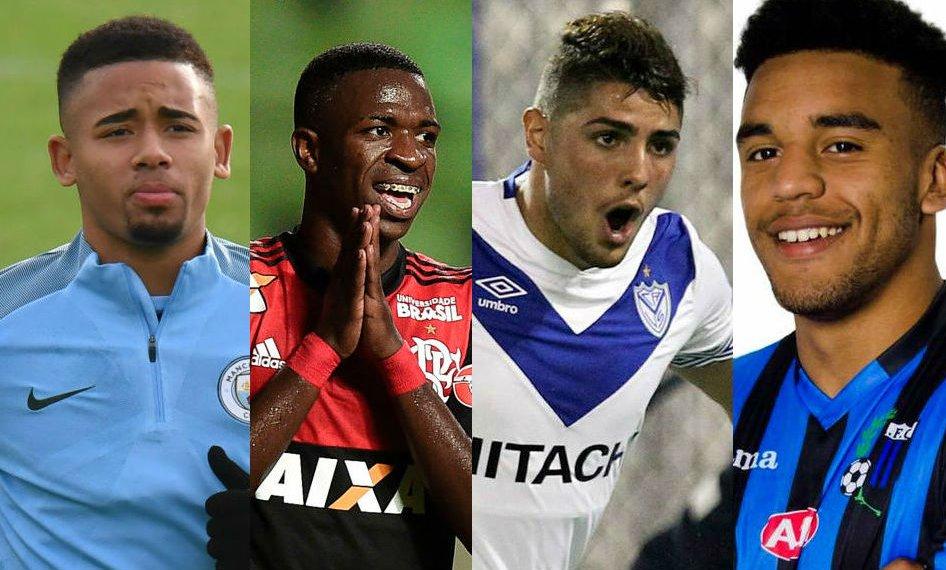 Los cuatro mejores jugadores jóvenes
