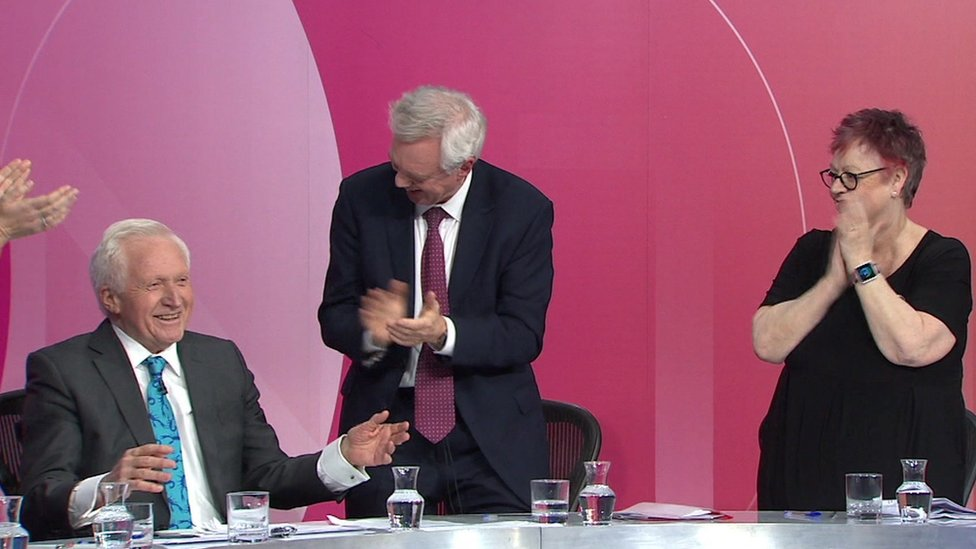 David Dimbleby's famous Question Time moments