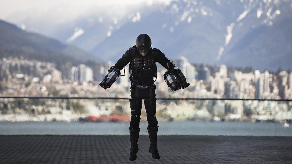 TED 2017: UK 'Iron Man' demonstrates flying suit