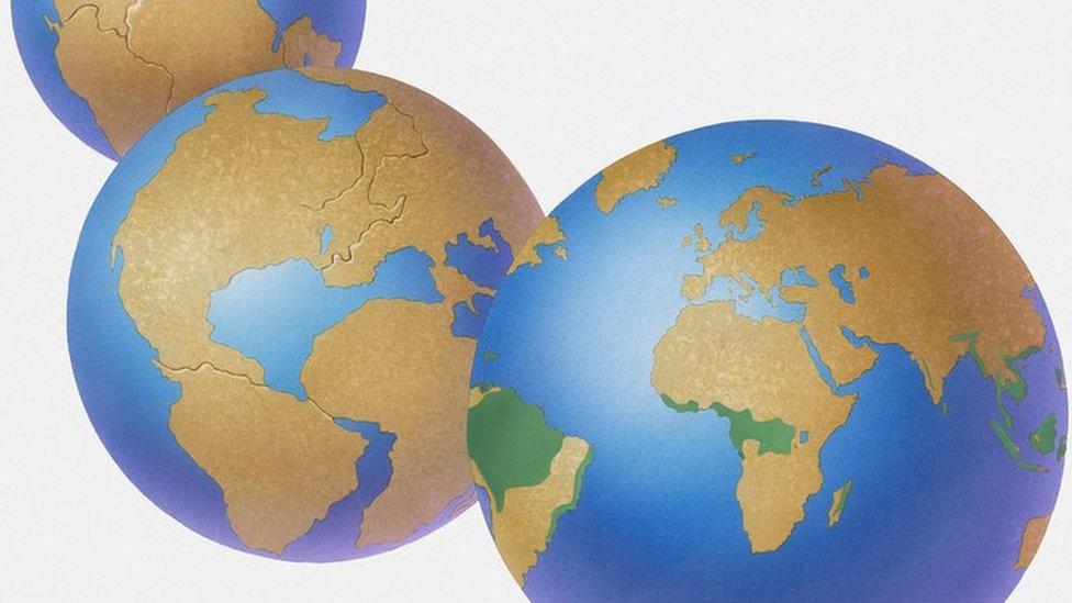 El Mapa Interactivo Que Permite Viajar En El Tiempo Para Ver Cómo Era El Lugar En El Que Vives Hace 600 Millones De Años Bbc News Mundo