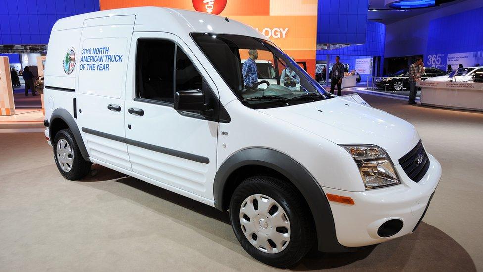 When's a van a van and when's it a car?