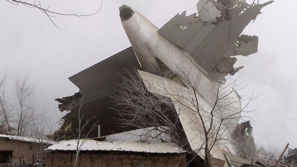 Eyewitness describes Kyrgyzstan plane crash